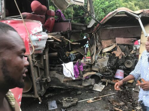 11 Die In Obuasi Crash