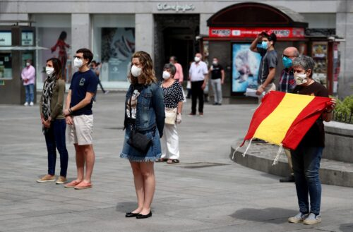 Spain Mourns Coronavirus Victims