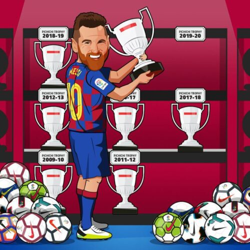 Messi Lands Record Seventh Pichichi Award