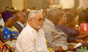Jerry John Rawlings and John Kufuor
