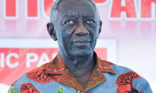 Kufuor and wife isolated