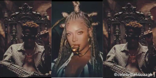 Beyoncé Uses Shatta Wale's Image As Main Promo Trailer