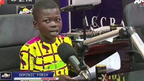 ABN Have Signed A 9-Year-Old Sports Presenter