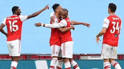 Aubameyang Double Sends Arsenal To FA Cup Final