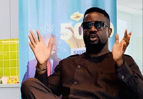 Sarkodie Hints On Becoming A President