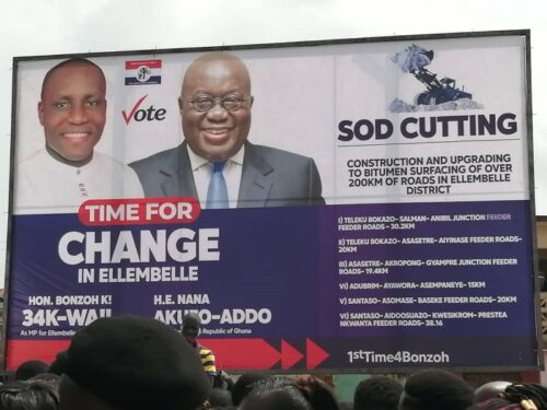 Our Roads Not 'Green book' Roads; They're 'Filli-Filli' – Akufo-Addo