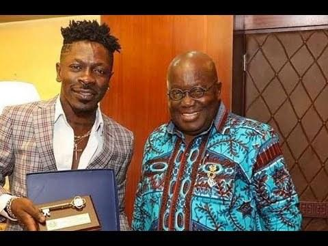 I will keep this tweet for 4 more years - Shatta Wale replies president Akufo-Addo