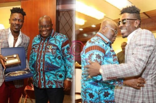 President Akufo-Addo finally congratulates Shatta Wale