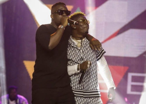 ShattaSark Is Back As Shatta Wale Performs With Sarkodie