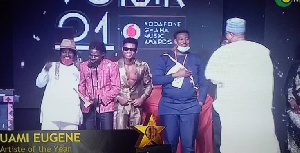 #VGMA21: Kuame Eugene Grabs Artist Of The Year