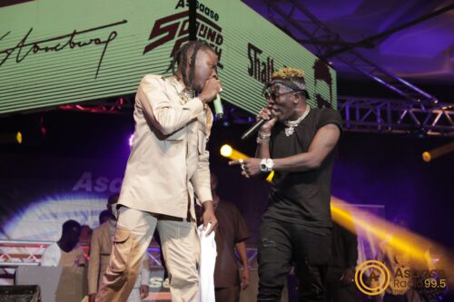 PHOTOS: Shatta Wale And Stonebwoy Meet To Have Lunch