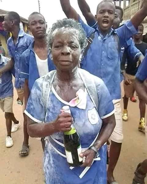 My Future Desire Is To Become A Nurse 57-Year-Old BECE Graduate