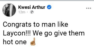 Kwesi Arthur To Laycon: We Will Give Them Hot One