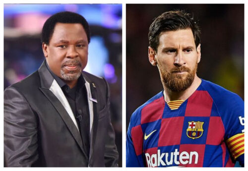 Don't Quit Barca – TB Joshua Advices Messi