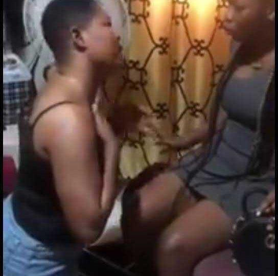 [Video]: Heartbroken Lesbian Begs Partner Not To Leave Her