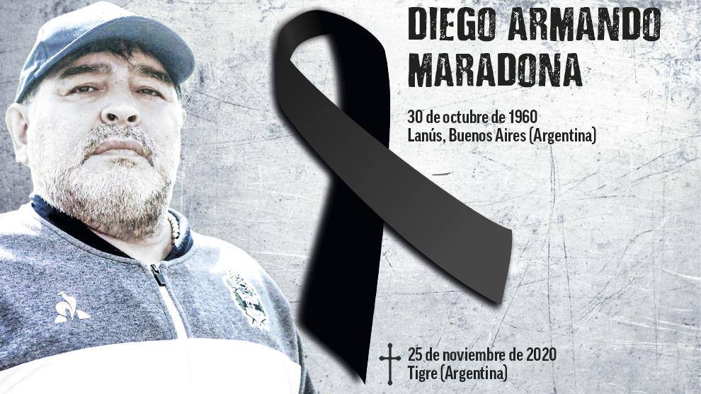 Diego Armando Maradona Dies At The Age Of 60