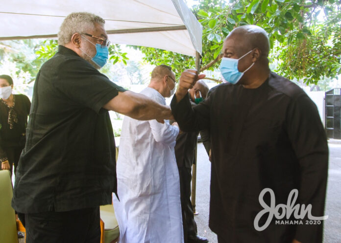 John Mahama Suspends Campaign