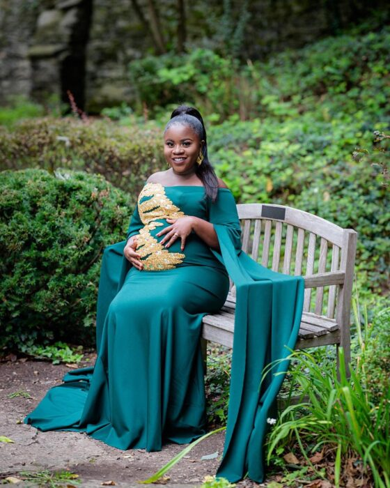 Kaakie Welcomes Her First Child