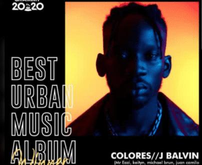 Mr. Eazi Wins Latin Grammy Awards