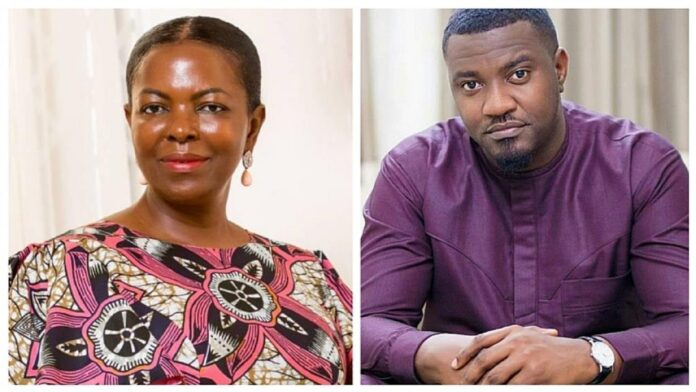 John Dumelo Is A Cry Baby – Lydia Alhassan