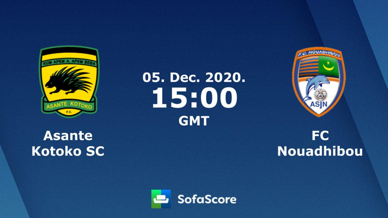 Asante Kotoko vs FC Nouadhibou Has Been Cancelled