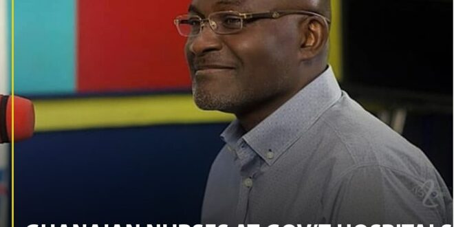 Ghanaian Nurses Don't Respect Patients - Kennedy Agyapong Fumes