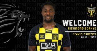 Ghanaian striker Richmond Boakye Yiadom signs for Beitar Jerusalem
