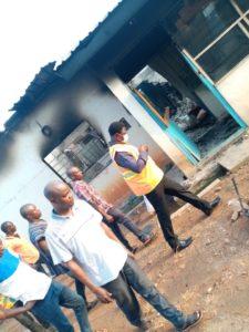 Sankore Senior High School Fire Outbreak