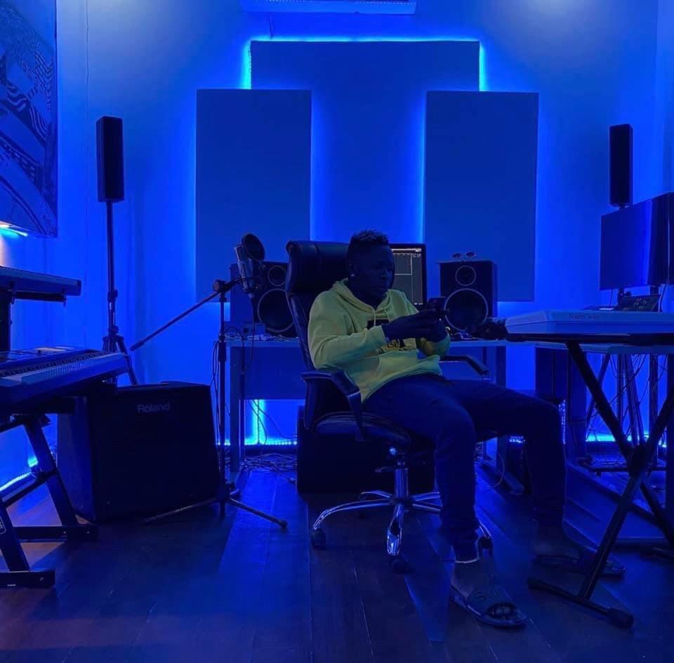 Ultra-Modern Music Studio