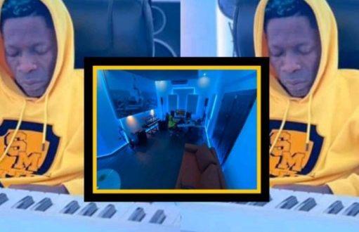 Shatta Wale Unveils His New Ultra-Modern Music Studio